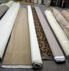 "12' x 9'9"" Commercial Plush Carpet Remnant And 12' x 9'9"" Commercial Patterned Loop Carpet, ""Limoge Grand Court"""