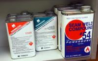 Mannington Seam Sealer, MSS 20 Qty 3 Pints, MCS 32 Qty 2 Pints And Seam Weld Compound 2 Quarts