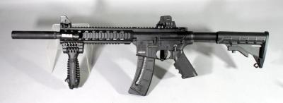 Smith & Wesson Model M&P 15-22 .22LR Rifle SN# DZR8399, With 1 Mag And Rail Light