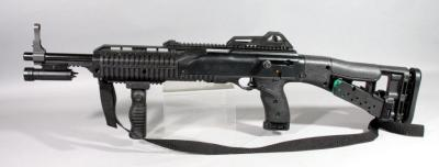 Hi-Point Firearms Model 4095 .40 S&W Rifle SN# H32371, With Sling, Accessory Light, Mag Holder And 3 Total Mags