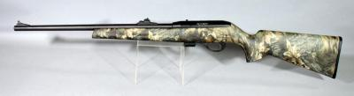 Remington Model 597 .22 LR Rifle SN# C274042, With Camo Stock