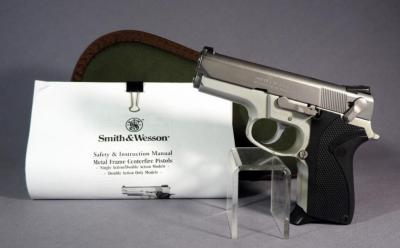 Smith & Wesson Model 6906 9mm Para Pistol SN# THB5285, In Soft Case With 1 Mag And Paperwork