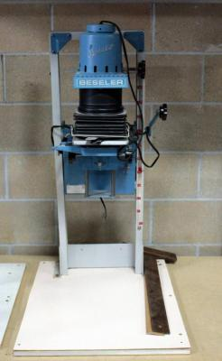 "Beseler Photo Enlarger Model 23C Series II With Stand, 36"" Tall"