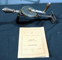 "Vintage North Bros.""Yankee"" No. 550 Manual Hand Drill And ""D. Stolp Of Zutphen"" Tool Reference Catalog Dated 1982"