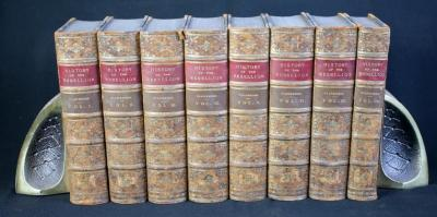 Civil Wars In England By Edward Earl Of Clarendon, 8 Volumes
