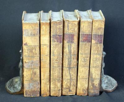 Posthumous Works Of Frederic II, King Of Prussia 6 Vol Set