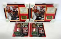 Tony Gonzalez Kansas City Chiefs Collectibles, Includes Framed Photo And Stats, Qty 2 And Bobbleheads, Qty 2