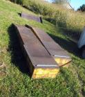 Custom Made 14 Ft Diamond Plate Steel Auto Ramps, Qty 2, 12' X 23', Bidder Responsible For Proper Removal