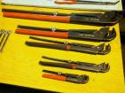 Snap-On Plier Wrench Assortment, PWZ 0,1,2,3 And 4, Total Qty 5
