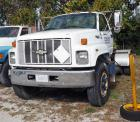 1995 GMC C7000 Topkick Truck, VIN # 1GDM7H1P0SJ505410, Millage Showing On Odometer 127,237, Set Up For 5th Wheel Trailer, Propane Powered, Starts & Runs