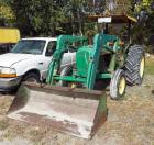 John Deere Tractor Model #2240 With Front End Loading Bucket, 2104 Hours Showing, Got It Started!  Its Running!