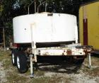 16 Ft, 1000 Gallon Fuel Tank Trailer With Double Axles, Pentle Hook Hitch, Liquid Control Meter. Hose Reel And Pump Filter