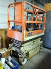 2004 JLG Electric Scissor Lift, Model #1932-E2, Extension Max 19 FT, 500 LBS Weight Capacity, Batteries Are Dead, Unknown Working Condition