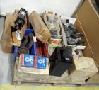 Del Hydraulic Levers Part #1221-2B-01, Prince Hydraulic Cylinders 2.5 Bore Model #B250100ABAAA07B, Flanges Actuators And More, Contents Of Pallet