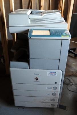Canon Image Runner 3225 Copier, Powers On But Needs Repair