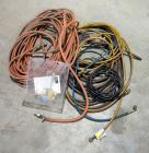 Pneumatic Hose Assortment, Various Types And Lengths, Qty. 5