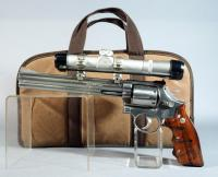 Smith & Wesson Model 686-3 S&W .357 Mag 6-Shot Revolver SN# BDR7529, With Thompson Center Arms 3RP Scope, In Soft Case