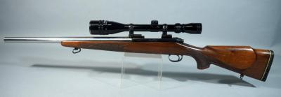 Remington Model 700 .223 REM Bolt Action Rifle SN# 74571, With Tasco 6-24 x 40 Scope