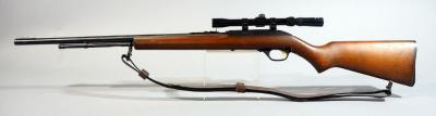 Marlin Model 60W .22 LR Rifle SN# 10363020, With Tasco 3-7 x 20 Scope And Leather Sling