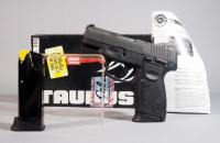 Taurus PT111 Millennium G2 9mm Pistol SN# TK079813, Two Total Mags And Paperwork, In Box
