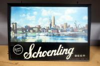 Schoenling Beer Lighted Display, May Need Repair