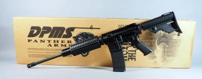 DPMS Panther Arms A-15 Multi-Cal / 5.56 Rifle SN# FFH107661, 6-Position Stock, In Box