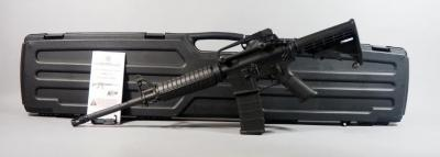 Smith & Wesson M&P-15 5.56 Cal Rifle SN# SN 04891, Adjustable Stock, With Paperwork, In Hard Case