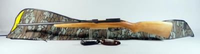 Winchester Model 121 .22SLLR Bolt Action Rifle SN# Z213374, No Bolt, In Soft Case