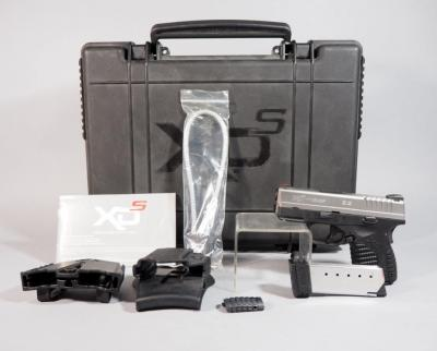 Springfield Armory Model XPS .45 ACP Pistol SN# S3128210, 2 Total Mags, With Holster, Mag Holder And Paperwork, In Hard Case