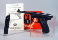 Ruger Standard .22LR Pistol SN# 10-86574, 2 Total Mags, Paperwork, In Original Box