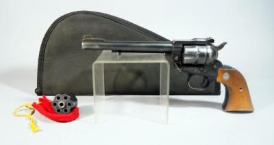 Ruger Single Six .22LR 6-Shot Revolver SN# 60-72072, With Extra Cylinder, In Soft Case
