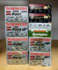 "Winchester And Remington 12 Ga 3"" Shotgun Shells, Assorted Loads, Approx Qty 190 Rounds, Local Pickup Only"