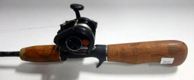 Lew Childre Mag Spool BB-XLM Reel With Bass Pro Microlite RT2 Graphite Fishing Rod