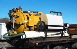 Mclaughlin Mfg., Vermeer VX30-500 Diesel Powered Vacuum Evacuator, Hours Showing On Digital Read-Out 93.9