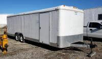 2007 Load-Runner Tandem, Enclosed Utility Trailer, VIN# 4RACS24208C013756, Model # 1CC10224TA3