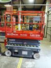2001 SkyJack Electric Scissor Lift, SJIII 3219, 550 lb Capacity, 19' Platform Height, 813 Hours On Gauge