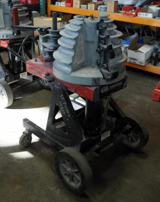 "Gardner Bender Cyclone B2000 Electric Powered Bender, 1/2 - 2"" EMT, Rigid, Rigid Aluminum & IMC Conduit, And 1/2 - 1 1/2"" PVC-Coated Conduit"