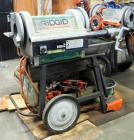Ridgid Threading Machine Model 1224, Including Reamer, Threader, Cutter, Oiler System, & Dyes