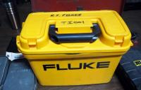 Fluke Thermal Imager Model TI200, Battery Powered, Includes Chargers, Batteries, Manuals, and Carrying Cases