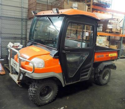 Kubota 4x4 Diesel RTV 900 With Dump Bed, PIN A5KB1FDAVAG0A8339, 2,660 Hours, Starts