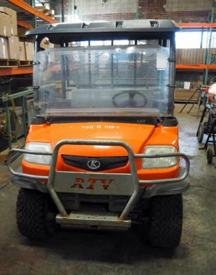 Kubota 4X4 Diesel RTV 900 With Dump Bed, PIN A5KB1FDACAGOA4587, 2,302 Hours, Starts