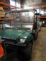 Polaris Ranger 2x4 With Dump Bed, 1,347 Hours, Starts