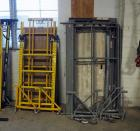 Grabber & Granite Industries Scaffolding - Total Qty 2, Including Safety Rail, Walk Boards, & Casters