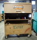 "Knaack Rolling Jobsite Chest With Hinge Lid, Model #89, 58"" x 60"" x 30"", Contents Included"