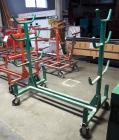 "Greenlee Mobile Conduit & Pipe Rack With Casters, Model #668, 63"" x 58"" x 34"
