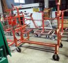 "Greenlee Mobile Conduit & Pipe Rack With Casters, Model #332-668, 65"" x 58"" x 34"
