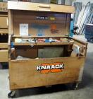 "Knaack Rolling Jobsite Chest With Piano Hinge Lid, Model #69, 45"" x 61"" x 31"", Including Contents: Fish Tape, Lighting, Solid Copper Wiring, Hand..."