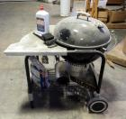 "Weber 23"" Kettle Grill Including Cart, Charcoal Starter, Charcoal, & More; Cart Is Damaged"
