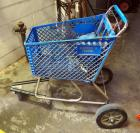 "Customized Big Wheel Shopping Cart, 42"" x 48"" x 27"""
