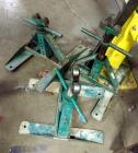 Greenlee Screw-Type Reel Stands, Model 687, Load Capacity 2500 Pounds, Qty 3